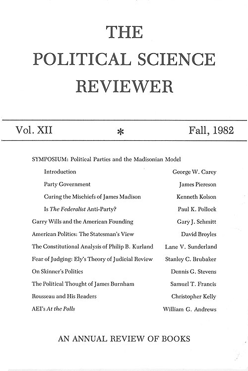 Cover of issue 12