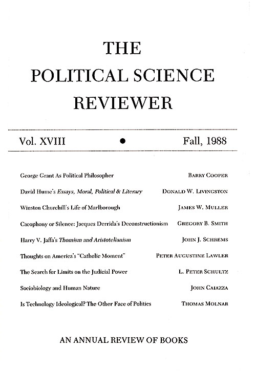 Cover of issue 18
