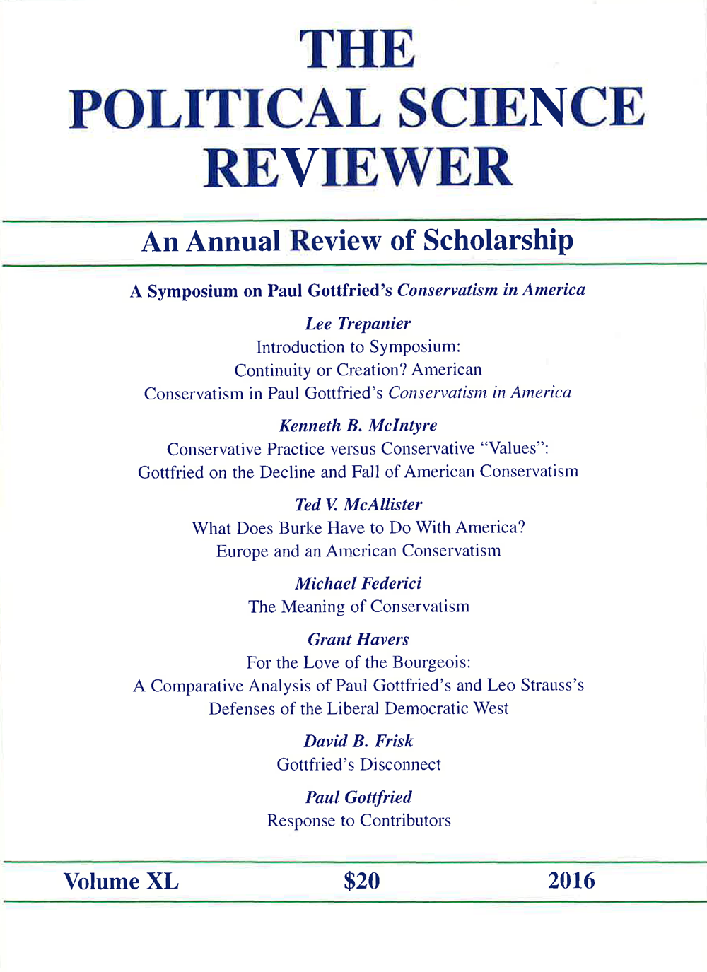 Cover of issue 40