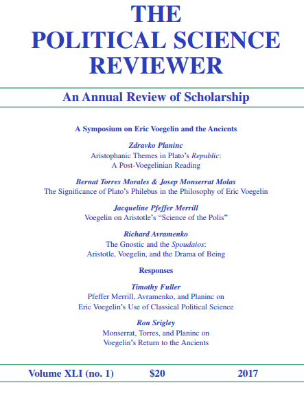 Cover of issue 41.1